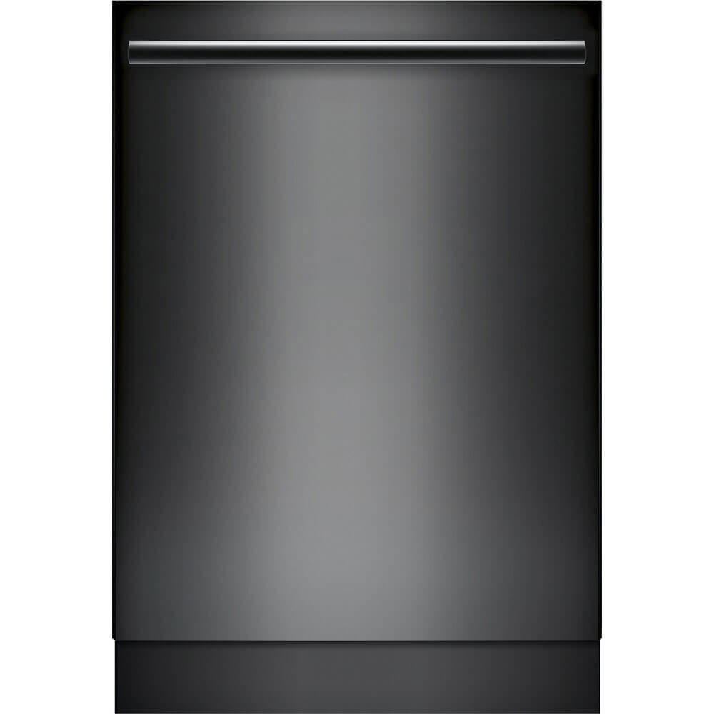 "Bosch SHXM78W56N 800 Series 24"" Built In Fully Integrated Dishwasher with 6 Wash Cycles, in Black"
