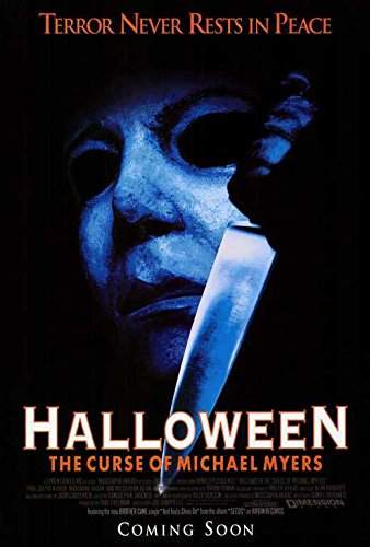 Halloween 6: The Curse of Michael Myers POSTER Movie (27 x 40 Inches - 69cm x 102cm) (1995) -