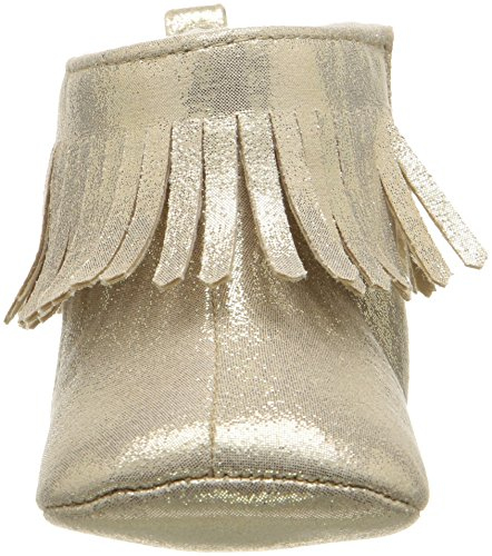 Pictures of ABG Baby Girls' Fringe Boot W/Bow GNB55395AZ2 Gold 6