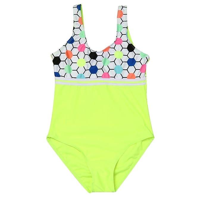 1b22cc957 Amazon.com: Moonker Hot Sale Baby Swimsuit! Toddler Girls Kids Summer Wave  One Piece Bathing Bikini Sunsuit Outfits 2-6T: Clothing