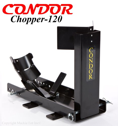 CONDOR-SC2000/120 Chopper Chock-Motorcycle Wheel Chocks. CHOPPER chock for a 110/120mm tire (Chopper Cycle)