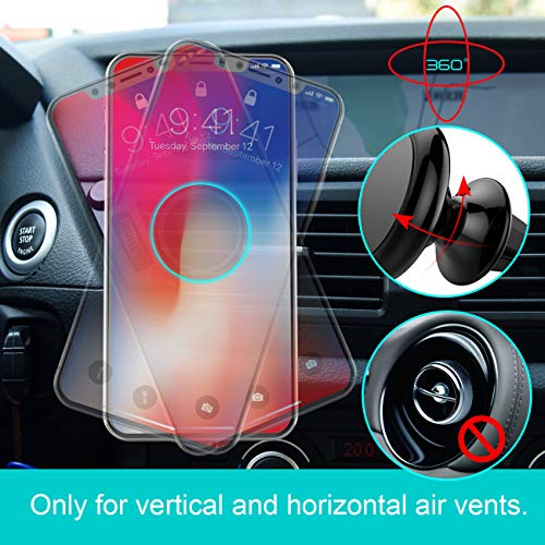 Magnetic Phone Car Mount, Lamicall Phone Holder : Universal Cradle Stand Holder Compatible with Phone 8 X 7 7P 6s 6P 5S, Galaxy S5 S6 S7 S8, Google Pixel, LG, Huawei, Other Smartphones