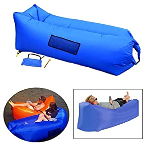 Beach Air Lounger Sofa, Fast Inflatable, Portable Outdoor Beach Camping  Hammock, Lazy Wind Sofa, Air Bag Bed Couch, Foldable Floating Waterproof  Chair, ...