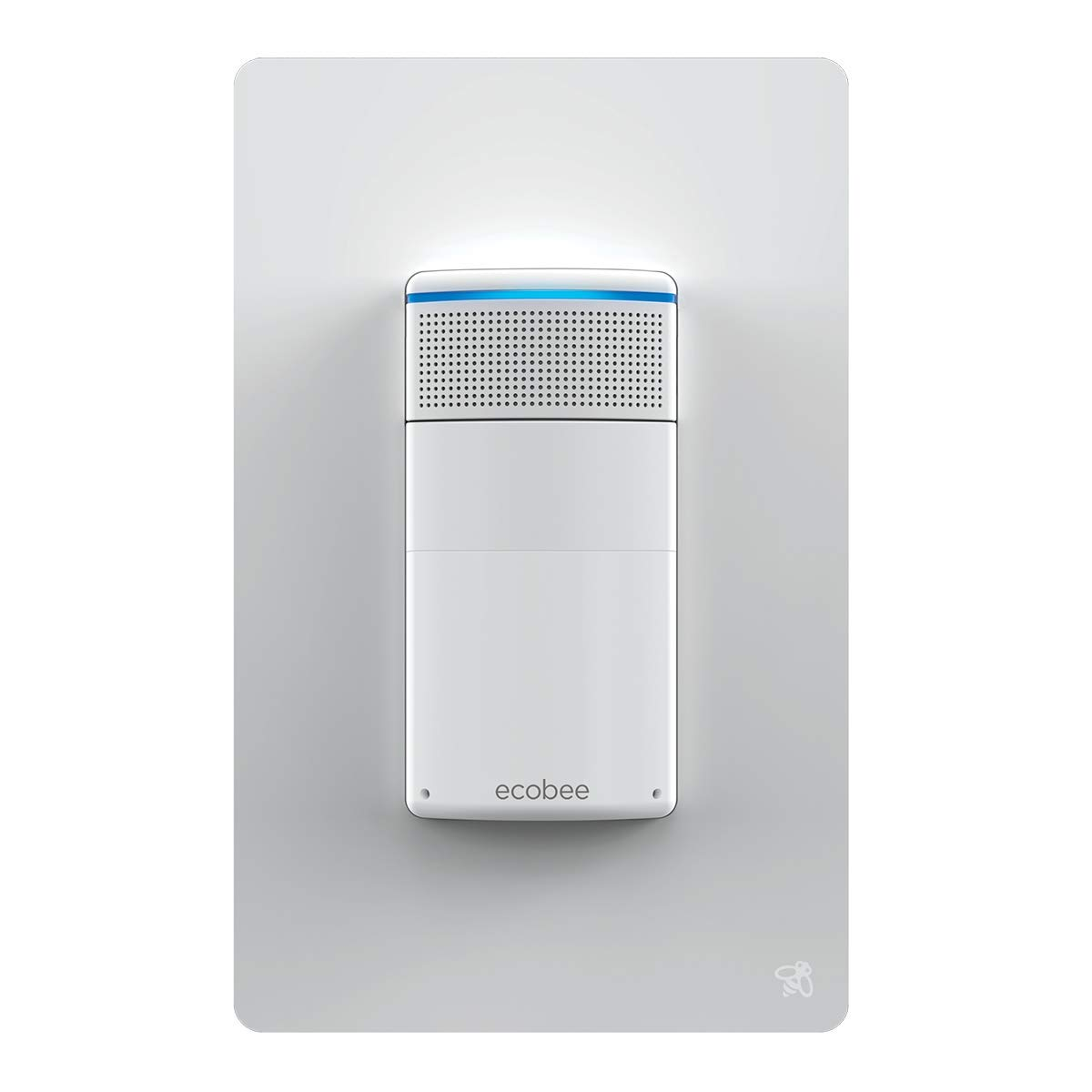 ecobee SmartThermostat with Voice Control and Switch Smart Light Switch Bundle