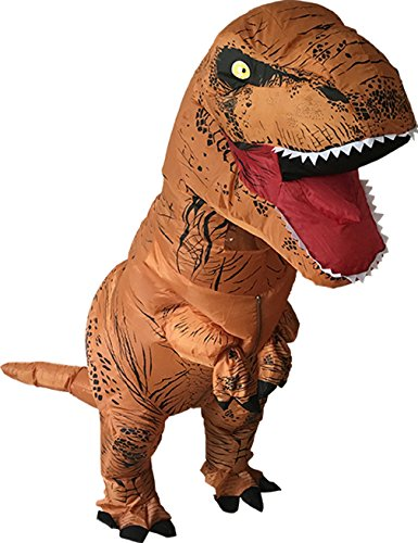 [Gameyly Adult Inflatable Dinosaur T-REX Blowup Fancy Costume] (Up Fancy Dress Costumes)