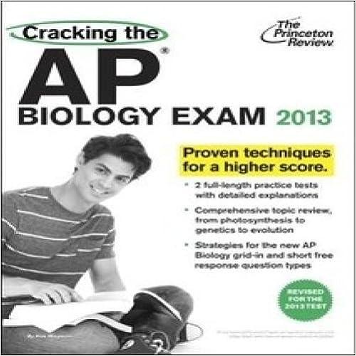 Cracking the AP Biology Exam 2013