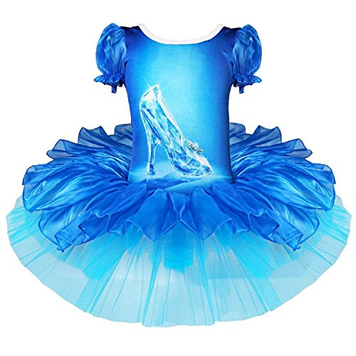 Cinderella Dress Up Costume Prom Tutu