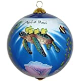 Collectible Maui Sea Turtles with Friends Christmas Ornament