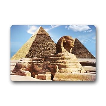 Ägyptische Pyramide Die Sphinx Vlies Stoff/Badezimmer Fußmatte Fußmatte  Teppiche Für Home/Office