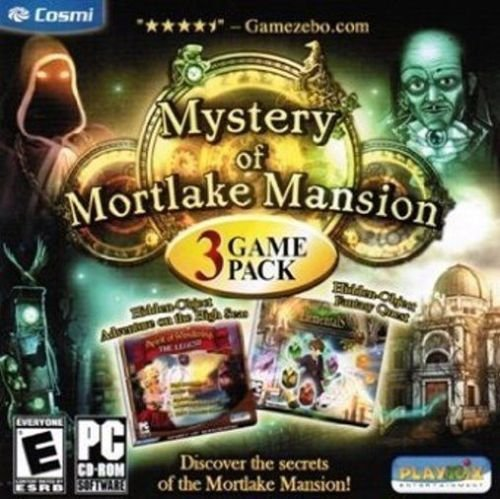 Mystery of Mortlake Mansion 3 game pack (Craft Franks Store)