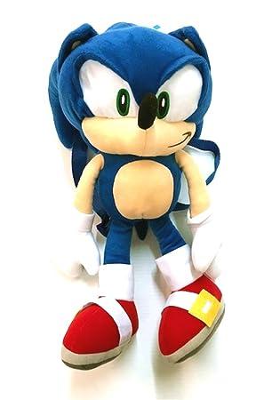 nouveau style ed260 62a61 SEGA Sonic hedgehog le sac à dos en peluche - peluche sac ...