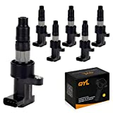 QYL Pack of 6 Ignition Coil for 2003-2008 Jaguar S-Type 2002-2008 X-Type 3.0L V6 UF435 C1402 M45255