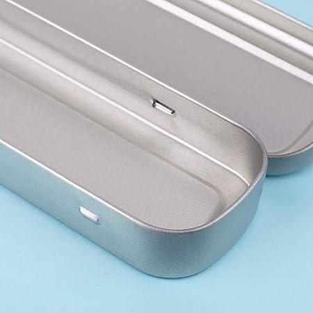 follwer0 - Estuche de lápices de metal, ideal para dibujo: Amazon.es: Oficina y papelería