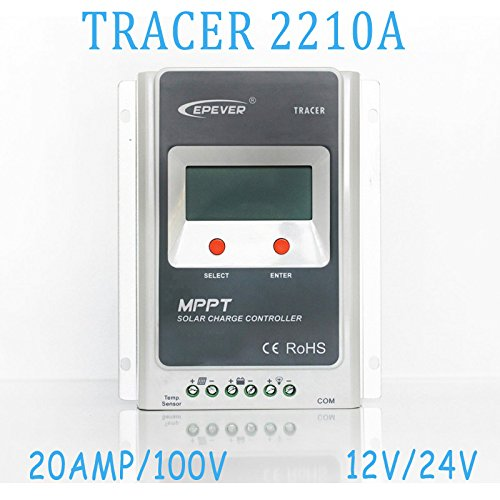 Regler Solar Solar Autoswitch Solar Panel Controller 20A 12V/24V MPPT