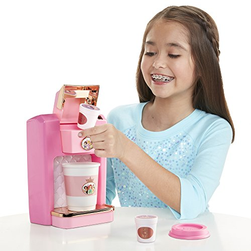 Disney Princess Style Collection Play Gourmet Coffee Maker, 4 Piece ()