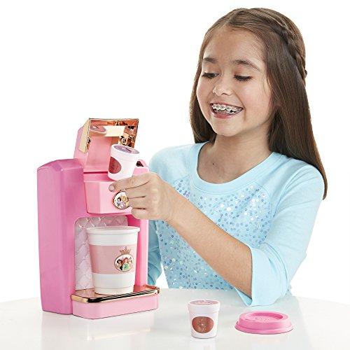 Disney Princess Style Collection Play Gourmet Coffee Maker, 4 Piece Set]()