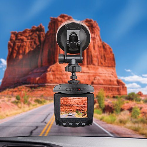 Dash Cam Sharper Image Car Dashboard Camera Recorder For