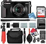 Canon PowerShot G7 X Mark II Digital Camera 4.2x Optical Zoom + 32GB SD + Spare Battery + Complete DigitalAndMore Accessory Bundle (Cyber Monday Deal!)