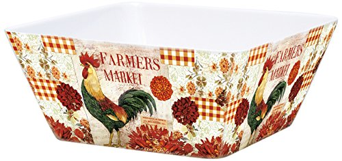 Lang Farmers Market Melamine Square Bowl by Kimberly Poloson (2103001) (Farmers Market Mug)