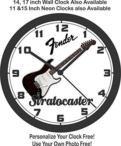 - Muscle Car Memories 1969 Fender Stratocaster Guitar Wall Clock-Free USA Ship