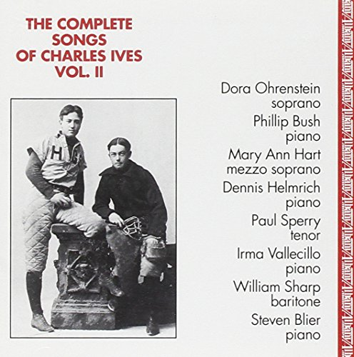 Price comparison product image The Complete Songs of Charles Ives, Vol. 2