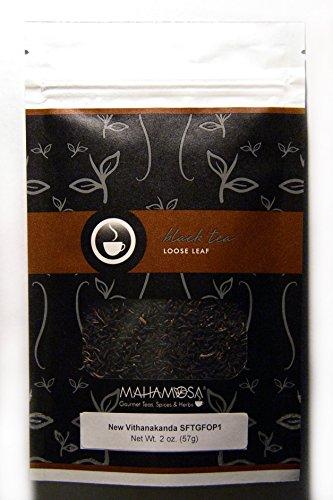 Mahamosa New Vithanakanda SFTGFOP1 2 oz - Sri Lanka (Ceylon) Black Tea Loose Leaf, Single Estate Ceylon Black - Second Tea Darjeeling Flush