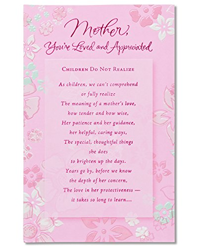 American Greetings You're Loved and Appreciated Birthday Card for Mom