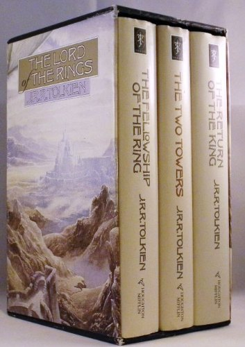 The Lord of the Rings Trilogy, 3 Volumes boxed Set