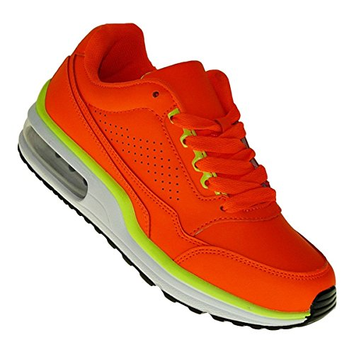 Sneaker Luftpolster Turnschuhe 841 Neu Schuhe Art Sportschuhe Neon qEwSFXF