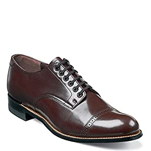 Stacy Adams MADISON 00012 Men's Oxford 10 2E US Burgundy