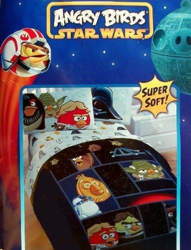 Angry Birds/ Star Wars Horizon Comforter, Twin Jay Franco and Sons Inc. JF23670TDY