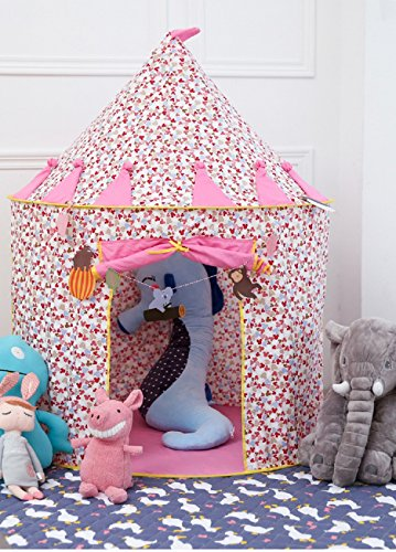 Cotton Princess Pretend Castle Play Tent Play House Toy for Girls Indoor and Outdoor Playhouse for Kids Secret Garden for Playing, reading