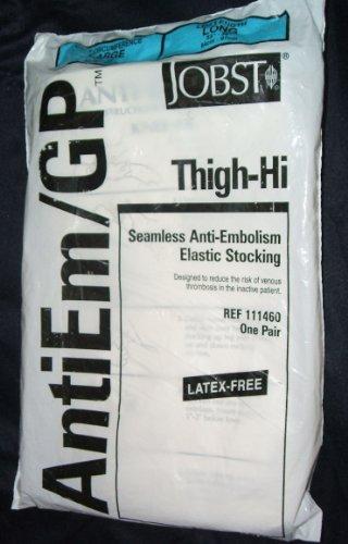 jobst-antiem-gp-thigh-hi-large-long-ref-111460-one-pair-seamless-anti-embolism-elastic-stocking