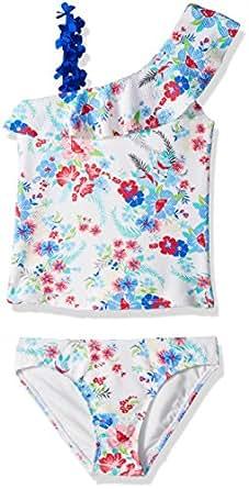 Amazon.com: Jessica Simpson Girls' One-Piece Swimsuit