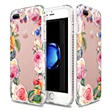 Patchworks Level Botanic Garden Case Rose for iPhone 7 Plus - Military Grade Protective Case, Extra Protection, Impact Disperse System