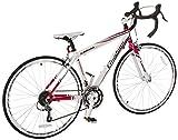 Giordano-Libero-16-WhitePink-Womens-Road-Bike-700c