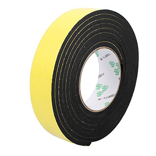 uxcell 35mm x 5mm Single Sided Self Adhesive Shockproof Sponge Foam Tape 3 (Self Adhesive Foam)