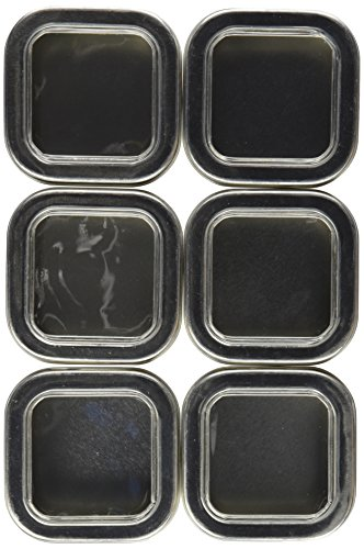 Empty Tin, 4 oz, PACK OF 6 (Tea Storage Can compare prices)