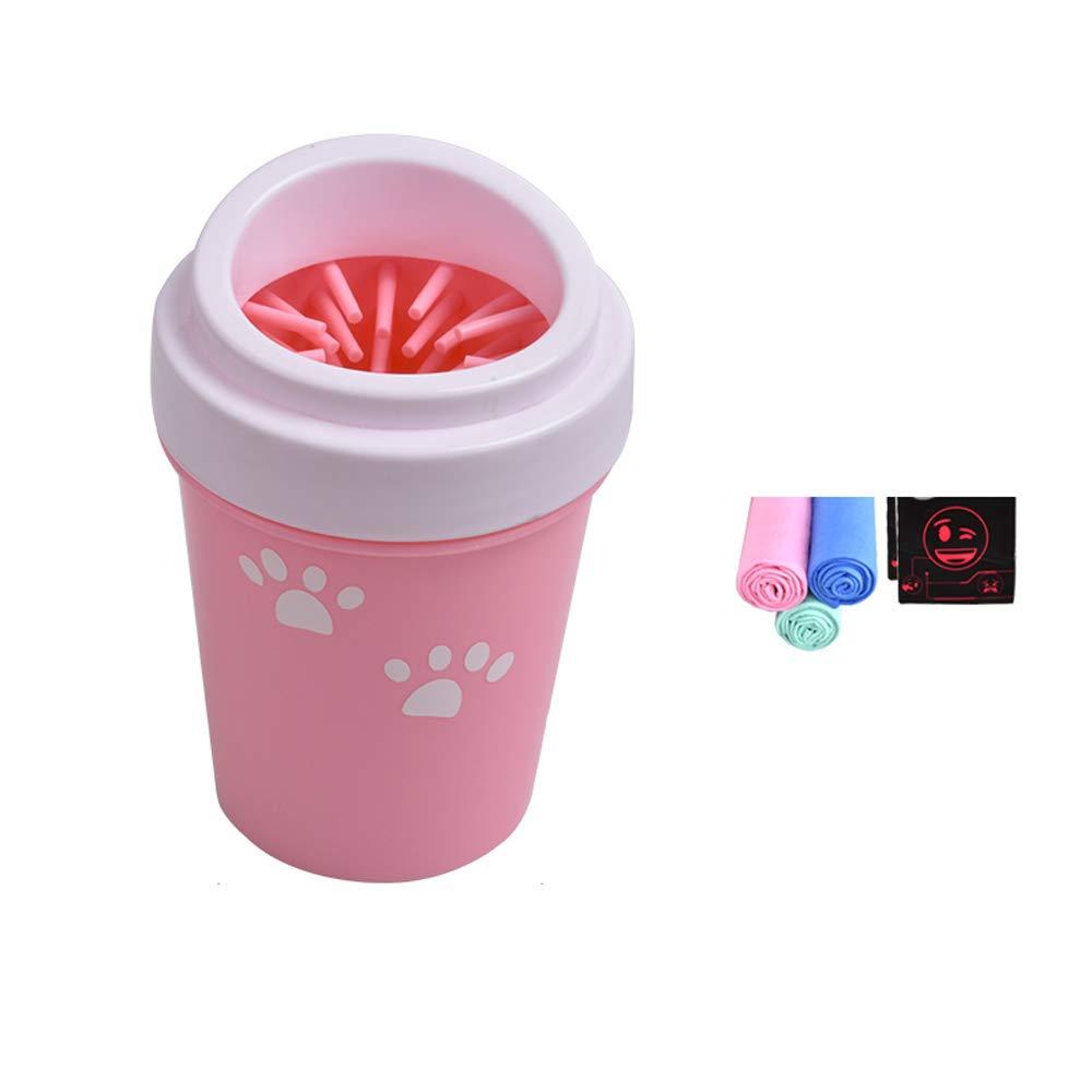 Limpiador de Patas de Silicona para Perros, Lavadora de pies para Perros Cepillo de Silicona para lavadores de pies Taza de pies para Mascotas: Amazon.es: ...