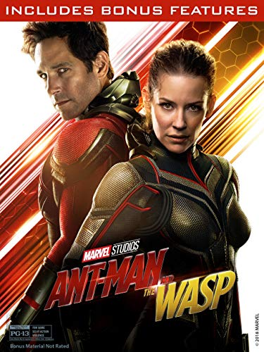 DVD : Ant-Man and the Wasp (Plus Bonus Content)