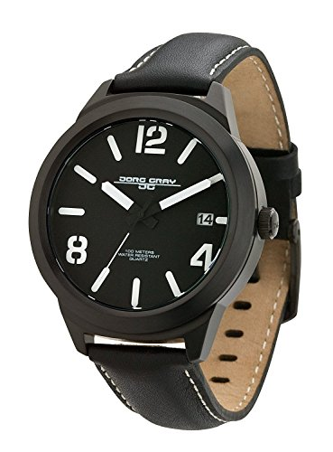 Jorg Gray Men's JG1950-12 Black Leather Watch (Jorg Gray Watch)