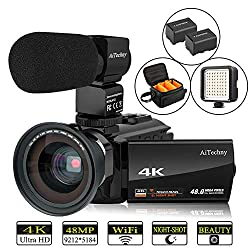 Image of the product Video Camera 4K Camcorder that is listed on the catalogue brand of AiTechny.