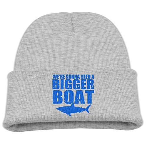 BaPaLa Children's We'er Gonna Need Bigger Boat Skull Cap Beanie Soft Winter Knitted - Boat Need Gonna Bigger Your A