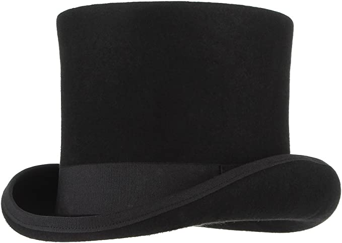 Cool Quality Hand Wool Top Hat Wedding Ascot Hat for Women Man