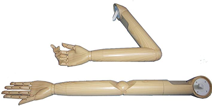 Mannequin arm WOOD articulated dress store display posable articulate form hand