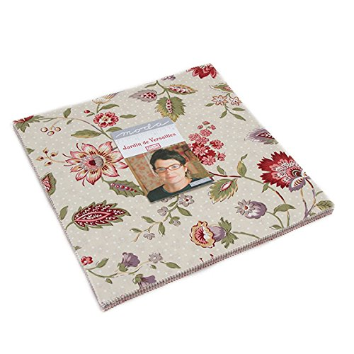 Moda French General Jardin de Versailles Layer Cake 42 Ten Inch Squares by MODA