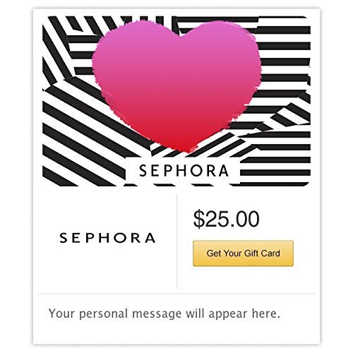 Sephora Hearts Gift Card -E-mail Delivery link image