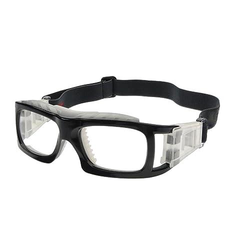 ba9de9879e3bc VORCOOL Lunettes de sport Lunettes de sport à verres transparents Lunettes  de protection résistant aux chocs