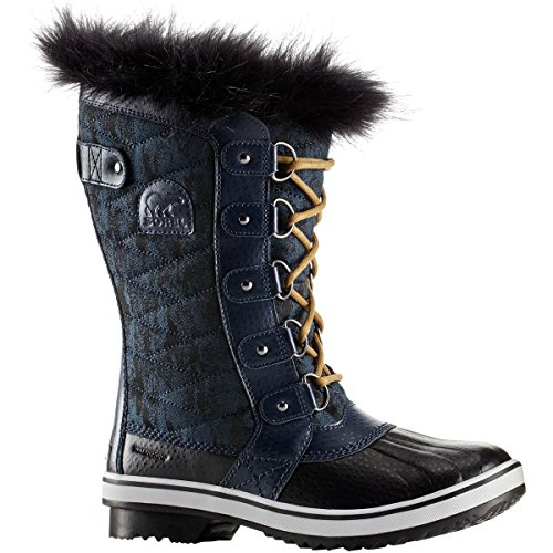 SOREL Women's 10.25 in. Tofino II Waterproof Boots, Collegiate Navy/Glare Blue - Snow Glare