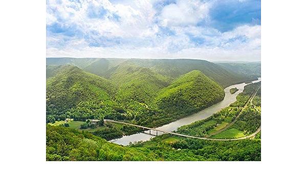 Fine Art Photography Wall Decor Hyner View State Park Pennsylvania Wall Art Scenic Mountain Wall Art Susquehanna River Landscape Print